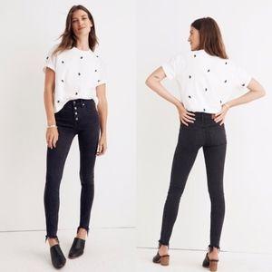 "Madewell 9"" High-Rise Skinny Jeans 30"